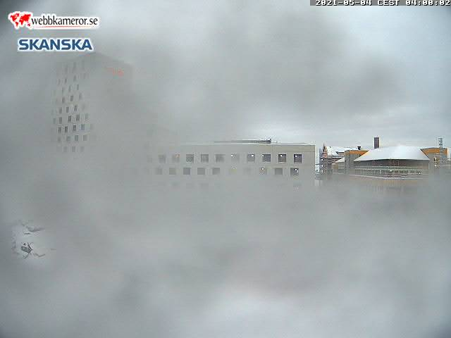 Webbkamera - Kiruna, Nytt hotell